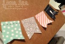 See Jane Stamp / This board is only for projects that I have actually made.  Some items are CASE'd and others are original designs.  Feel free to copy my projects but send me a shout out so I know my ideas and designs are getting out in the world.   http://janeleescards.blogspot.com