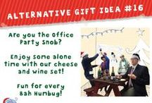 Alternative Christmas Ideas / Gift ideas are everywhere and our product range is no exception.  BUT, how about using our products in different ways?  This is our fun way of exploring how...