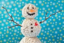 Wintertime Fun! / Fun crafts and activities for kids to do when it's cold outside!
