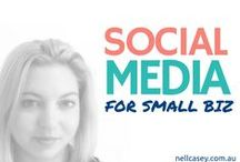 Social Media for Small Biz / Social Media tips, tools and tricks for creative small businesses, do-it-all freelancers and world-changing entrepreneurs.