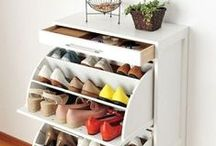 Getting Organized / Organizing your space with style.
