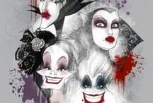 Disney Villains / Who doesn't love a #Disney baddie? Have a wicked time with Ursula, Jafar, Cruella and Maleficent!