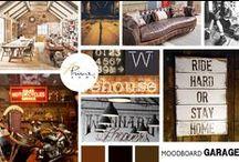 GARAGE Mood / Lasciati ispirare ...da Prime Home! #interiordesign #arredo Mood Board della settimana in #stile GARAGE!