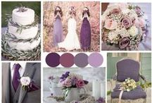 Color Inspiration: Purple / Wedding & Event Color Palettes: Purple, Violet, Lilac, Lavender, Amethyst, Plum, Magenta, Mauve, Eggplant & More