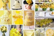 Color Inspiration: Yellow / Wedding & Event Color Palettes: Yellow, Mustard, Tuscan Sun, & Lemon