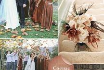 Color Inspiration: Brown / Wedding & Event Color Palettes: Brown, Cognac, Taupe, Carmel, Chocolate & More