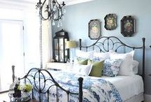Guest Room Blue and White