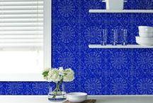 Eye-Catching Wallpaper Designs / Beautiful wallpaper designs for home.