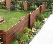 Fabulous Fences / Modern fence ideas and designs.
