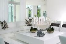White Interiors / Ethereal white interior ideas for every room in the house.