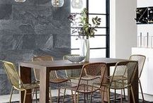 Inspired Dining Rooms / Interesting and fabulous dining room ideas and designs!