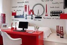 Teen Bedroom Ideas / Inspired teenage bedroom ideas and designs