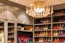 Elegant Master Closets / I claim no ownership of any images and will gladly remove any upon request. / by Patricia Edsall Hartley