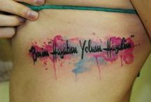 Future Tattoo Ideas / by Allison Abbott