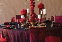 Red & Black Wedding Ideas
