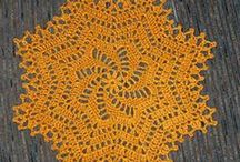 Crochet Meditations / To create something of elegance, beauty, and practicality is a wonderful experience.  Here are patterns for specifics and free-form creations. / by Claudia Hunt