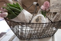 ~ Decorate with Baskets ~