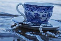 ~ Blue and White ~