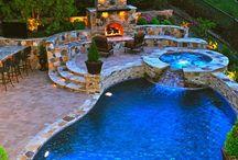 Backyards, Patios, Decks / by Yvonne Loya