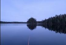 Pourvoirie Kanawata / Nord de St Michel des Saints sur le Lac Manouane.