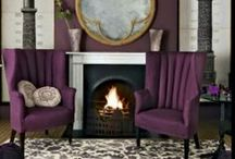 Purple Home Decor / by Patricia Edsall Hartley