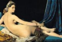Jean-Auguste Dominique Ingres (1780 – 1867) / Jean-Auguste-Dominique Ingres (1780 – 1867) was a French Neoclassical painter. Although he considered himself to be a painter of history in the tradition of Nicolas Poussin and Jacques-Louis David, by the end of his life it was Ingres's portraits, both painted and drawn, that were recognized as his greatest legacy. / by Saskia Darcy