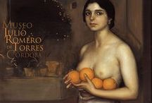 Julio Romero De Torres (1874 – 1930) / (1874 – 1930) He was born and died in Córdoba, Spain, where he lived most of his life. His father was the famous painter Rafael Romero Barros and his mother was Rosario de Torres Delgado. Julio learned about art from his father who was the director, curator and founder of Córdoba's Museo Provincial de Bellas Artes and an impressionist painter. He went to Madrid to work and study in 1906. He also traveled all over Europe to study and he picked up a symbolist style, for which he is best known. / by Saskia Darcy