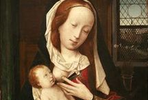 Jan Provoost (1462 – 1529) / Jan Provoost, or Jean Provost, or Jan Provost (1462 – 1529) was a Flemish painter. He was one of the most famous Netherlandish painters of his generation. Provost was born in Mons. Provost was also a cartographer, engineer, and architect. He met Albrecht Dürer in Antwerp in 1520, and a Dürer portrait drawing at the National Gallery, London, is conjectured to be of Provost. / by Saskia Darcy