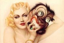 Alberto Vargas (1896 – 1982) / Alberto Vargas (1896 – 1982) was a noted Peruvian painter of pin-up girls. He is often considered one of the most famous of the pin-up artists. Numerous Vargas paintings have sold and continue to sell for hundreds of thousands of dollars. / by Saskia Darcy