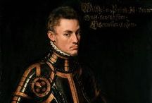 Anthony Mor (1517 – 1577)  / Sir Anthonis Mor, also known as Anthonis Mor van Dashorst and Antonio Moro (1517 – 1577) was a Netherlandish portrait painter, much in demand by the courts of Europe. He has also been referred to as Antoon, Anthonius, Anthonis or Mor van Dashorst, and as Antonio Moro, Anthony More, etc., but signed most of his portraits as Anthonis Mor. / by Saskia Darcy