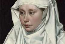 Robert Campin (1375 – 1444) / Robert Campin (1375 – 1444), now usually identified as the artist known as the Master of Flémalle, is usually considered the first great master of Flemish and Early Netherlandish painting. This had been a matter of controversy for decades; Campin's life is relatively well documented for the period, but no works in assessable condition could be securely connected with him. / by Saskia Darcy