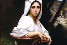 Willian-Adolphe Bouguereau (1825 – 1905) / William-Adolphe Bouguereau (1825 – 1905) was a French academic painter. William Bouguereau was a traditionalist; in his realistic genre paintings he used mythological themes, making modern interpretations of Classical subjects, with an emphasis on the female human body. / by Saskia Darcy