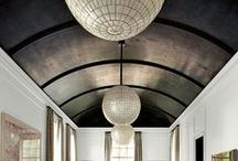 Ceiling Treatments / Sheetrock is boring all by itself, give some life to your ceiling