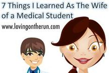 Surviving Medical School & Residency / A lot of people might think it's just the student in school; however, we spouses know different.  Medical School is a family affair.  Please pin anything that has helped you in this journey.