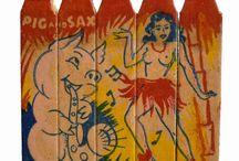 Striking Design / Vintage Matchbook cover design