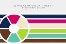 Color Palettes and Swatches