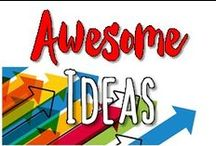 School - AwEsOmE ideas! / Awesome ideas for any classroom!  Organization, decor, experiments, behavior management and more.