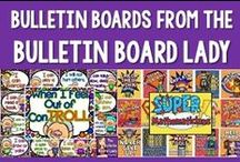 Bulletin Boards -From The Bulletin Board Lady / Bulletin Boards for every classroom designed by the Bulletin Board Lady- Tracy King