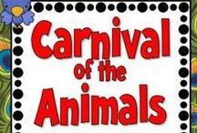 Music Class - Carnival of Animals / Ideas and resources for Carnival of Animals