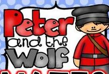 Music Class - Peter and the Wolf / Ideas and resources for Peter and the Wolf.