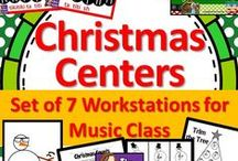 Music Class - Winter Activities / Winter (December, January and February) activities for music classrooms.  Nutcracker, Christmas, Hanukkah, New Years, Black History Month, Valentine's Day, MLK Jr. Day, snow, ice and other themes that you might use in music class are pinned here.