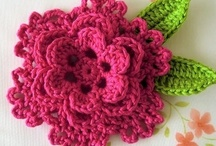 crochet: flowers/ free / by Amy Woods