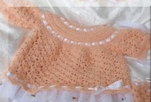 crochet: baby & child clothing/ free #2  / by Amy Woods