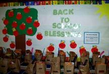 Bulletin Boards -Back to School / Sharpen your pencils and pack your backpacks!  It is back to school time!  This board is a collection of bulletin board ideas for back to school time;