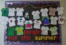 Bulletin Boards -End of School / Wow!  It's already the end of the year?  Bulletin board ideas to end it right.