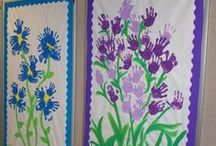 Bulletin Boards -April / Spring is in the air!  Put these April bulletin boards on the wall.