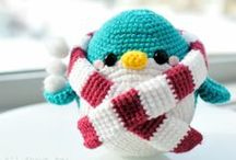 crochet: penguin/ free / by Amy Woods