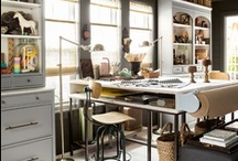 Home- Work, Work, Work... / Office area inspiration / by Allison Bell