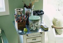 Home- Craft Studio / by Allison Bell