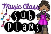 Music Class - Sub Plans / Oh no!  You need a sub!  Being a music specialist means that you may not get a musical person that will feel comfortable doing your regular plans.  This board contains ideas that will work for you when you need the day off.  If you would like to contribute to this board, please email me at thebulletinboardlady@yahoo.com   Pinning Rules:  1 to 1 ratio of paid and free products/blog posts.